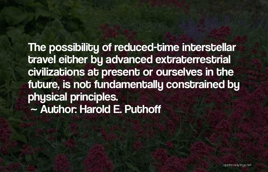 Harold E. Puthoff Quotes 1916382
