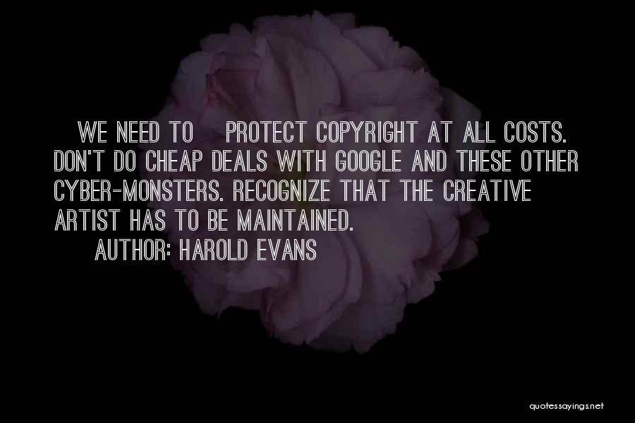 Harold Evans Quotes 1227110