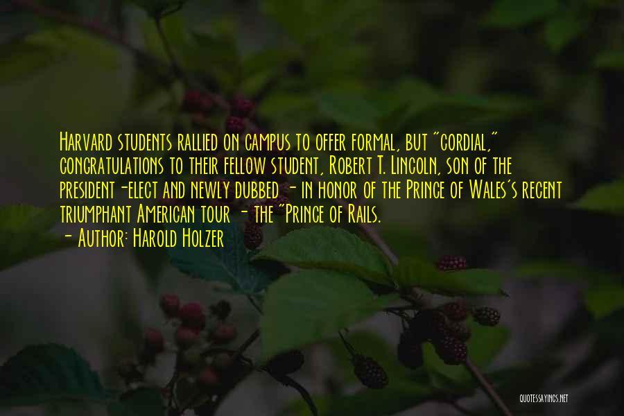 Harold Holzer Quotes 1361581