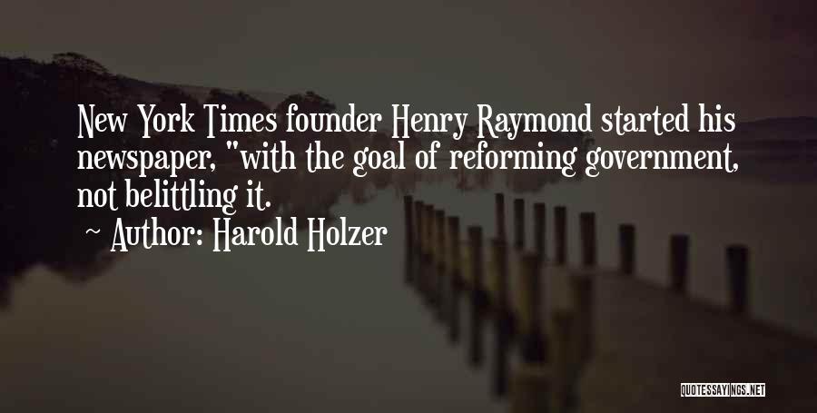 Harold Holzer Quotes 1476552