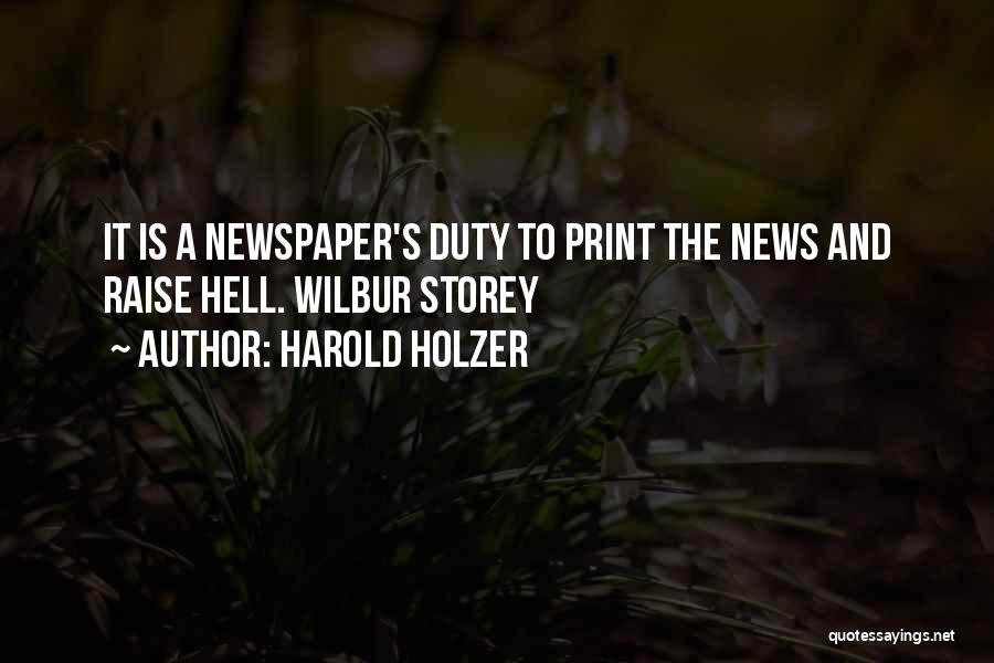 Harold Holzer Quotes 1493990