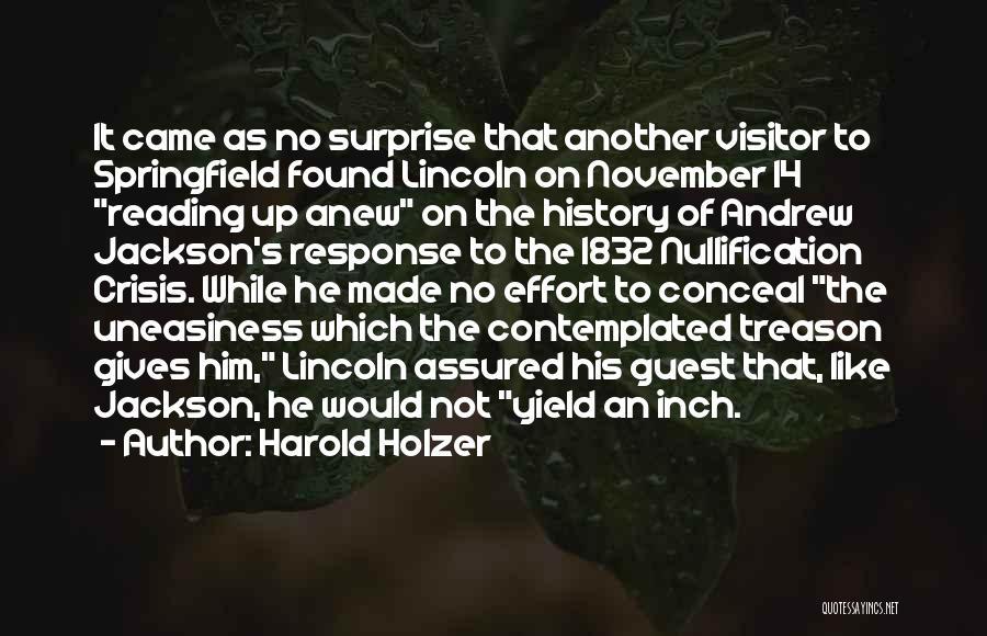 Harold Holzer Quotes 1674996