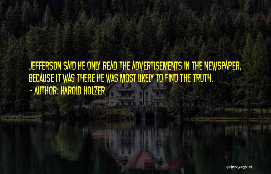 Harold Holzer Quotes 1808897