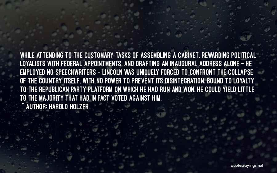 Harold Holzer Quotes 1923696
