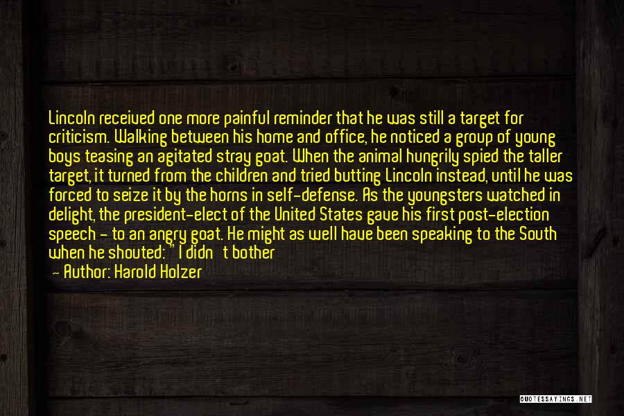 Harold Holzer Quotes 194491
