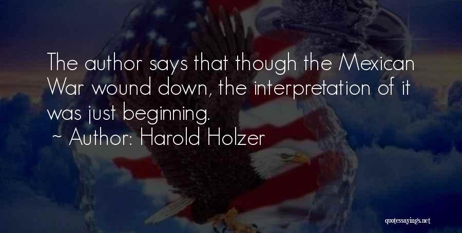 Harold Holzer Quotes 1963608