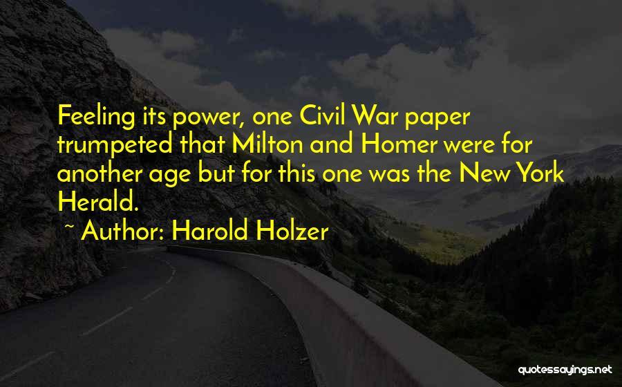 Harold Holzer Quotes 2020879
