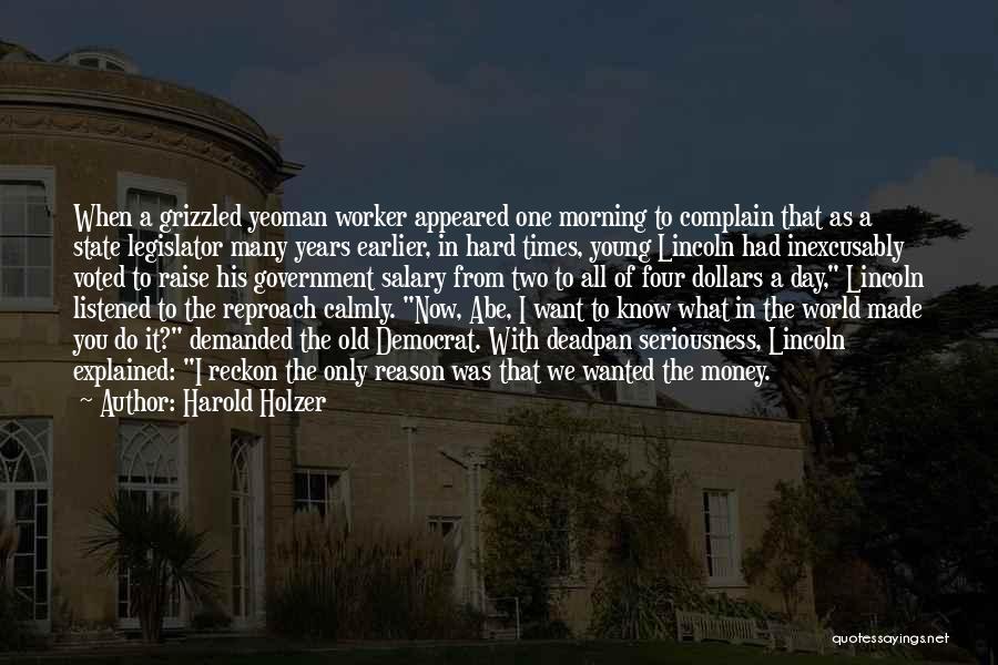 Harold Holzer Quotes 2154424