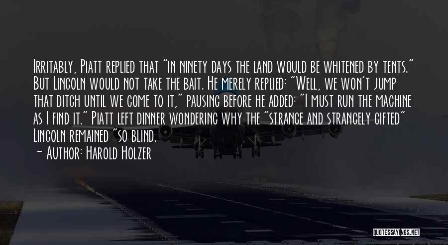 Harold Holzer Quotes 290496