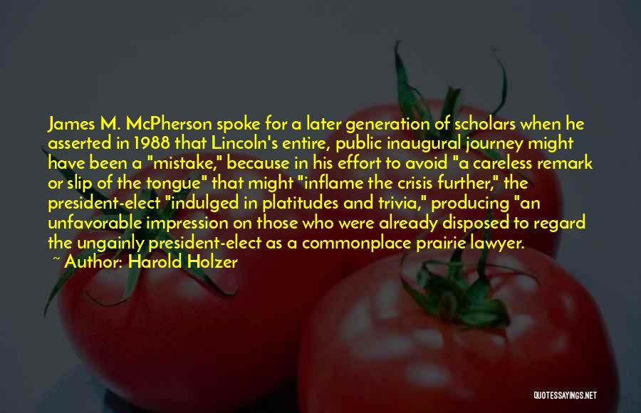Harold Holzer Quotes 302545
