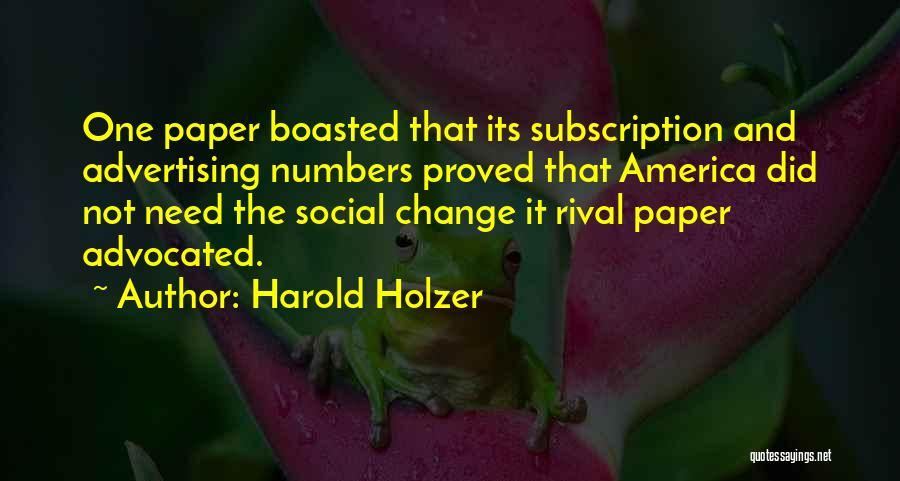 Harold Holzer Quotes 524267