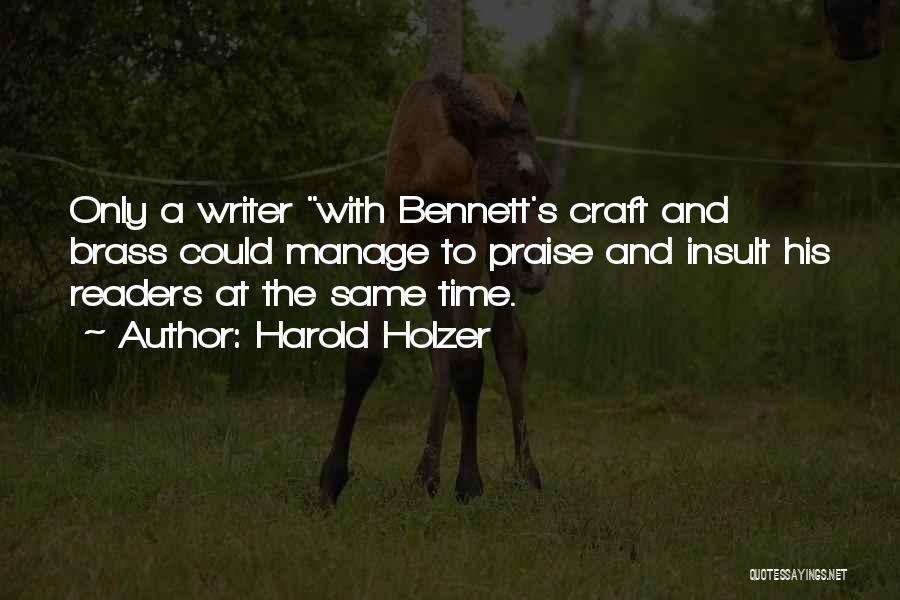 Harold Holzer Quotes 659396