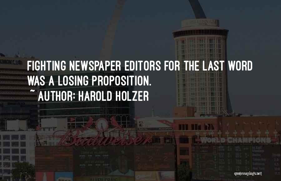 Harold Holzer Quotes 803602