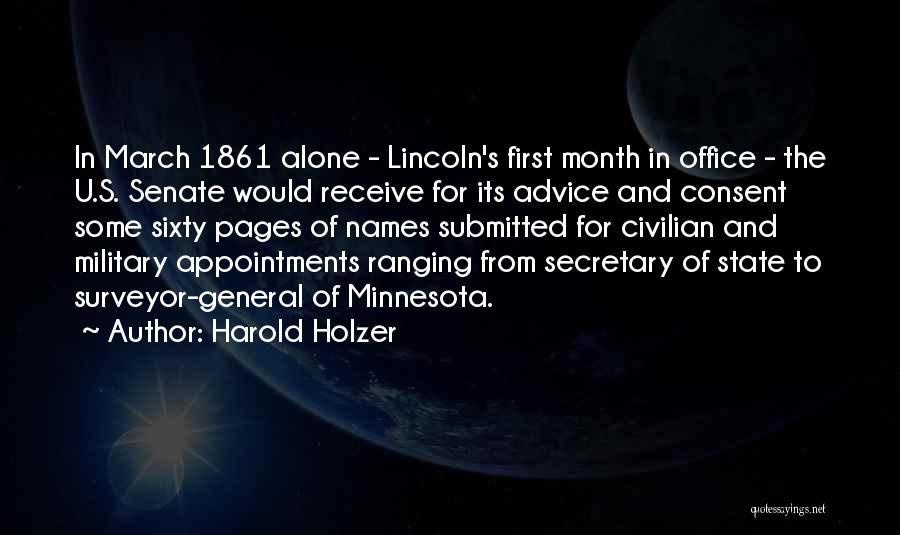 Harold Holzer Quotes 892834