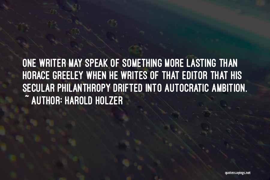 Harold Holzer Quotes 975972