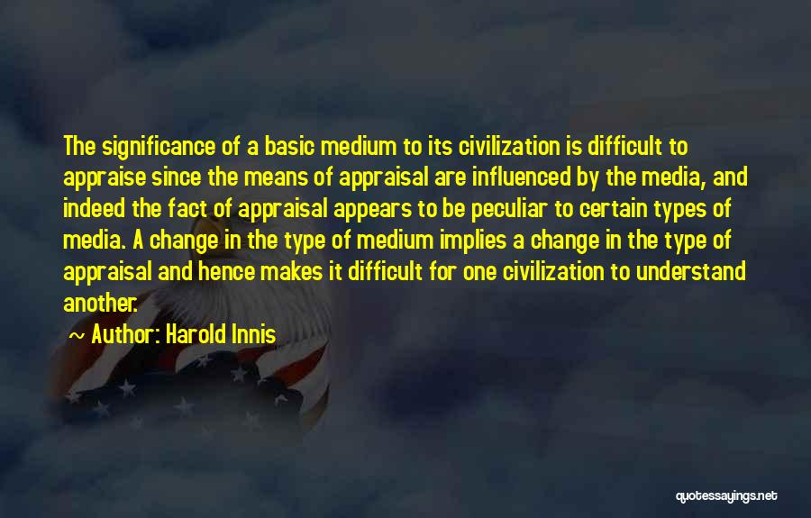 Harold Innis Quotes 1918060