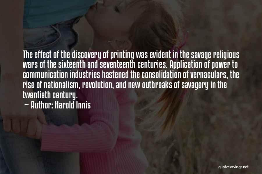 Harold Innis Quotes 281783