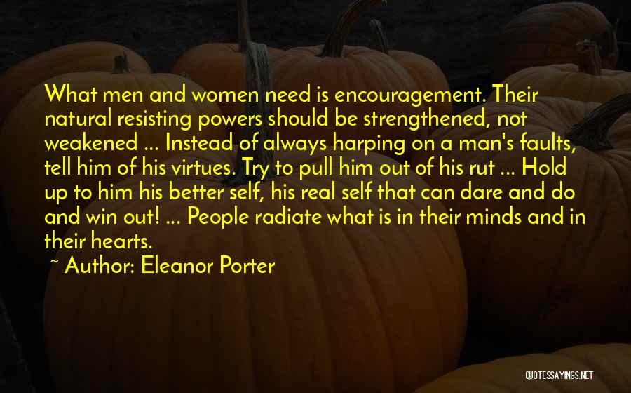Harping On The Past Quotes By Eleanor Porter
