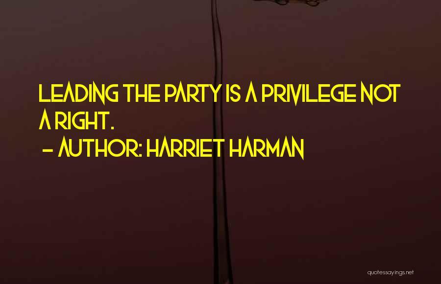 Harriet Harman Quotes 1251334