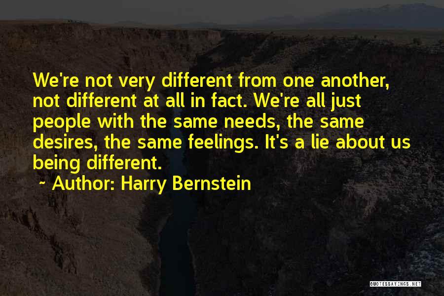 Harry Bernstein Quotes 1916484