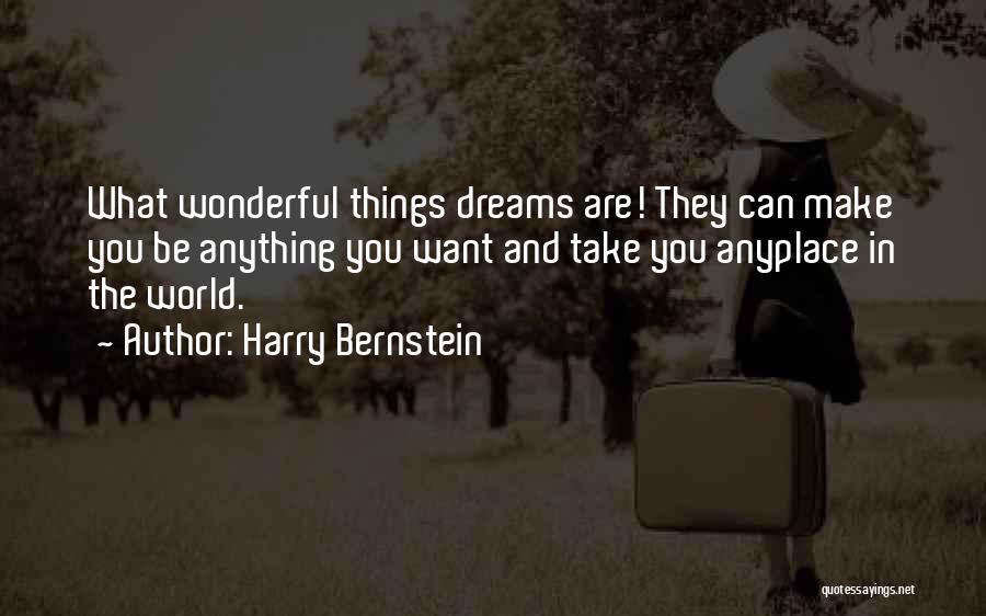 Harry Bernstein Quotes 869291