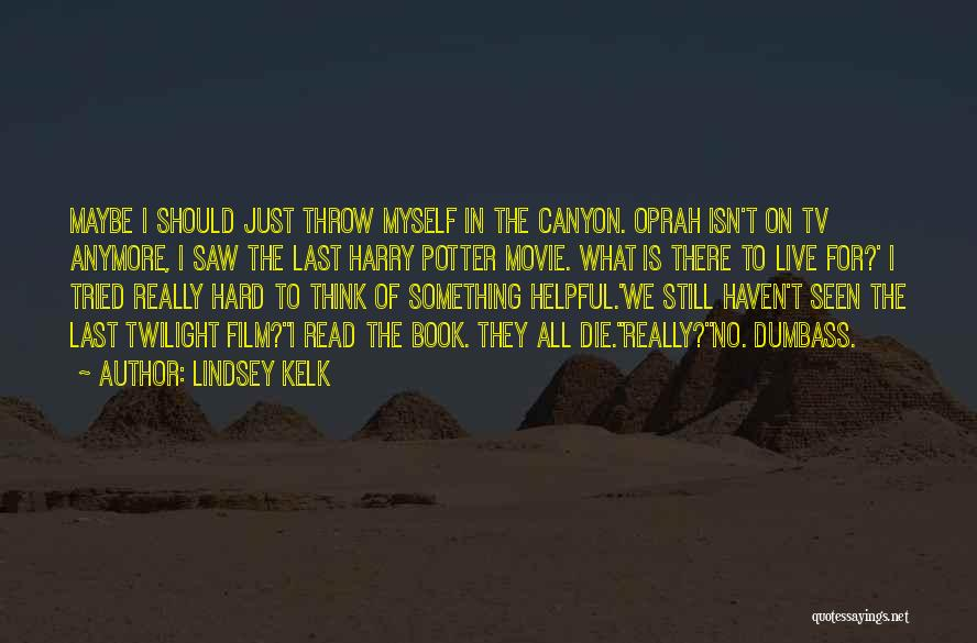 Harry Canyon Quotes By Lindsey Kelk