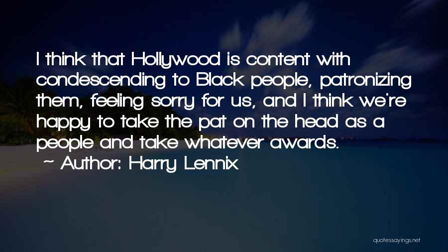 Harry Lennix Quotes 122709