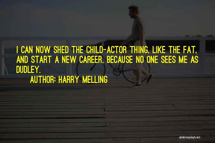 Harry Melling Quotes 1935833