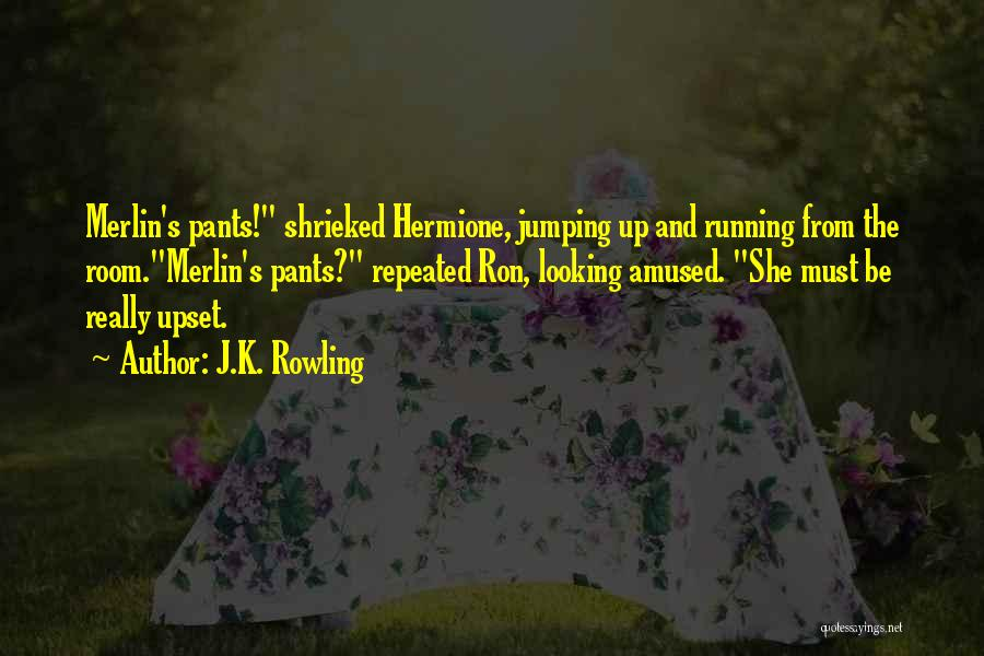 Harry Potter Hermione And Ron Quotes By J.K. Rowling