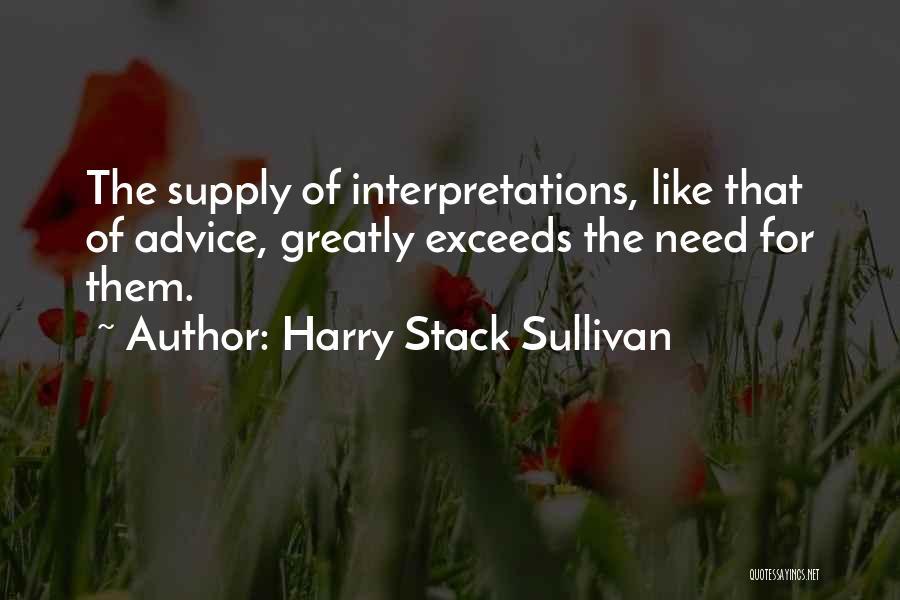 Harry Stack Sullivan Quotes 1252470