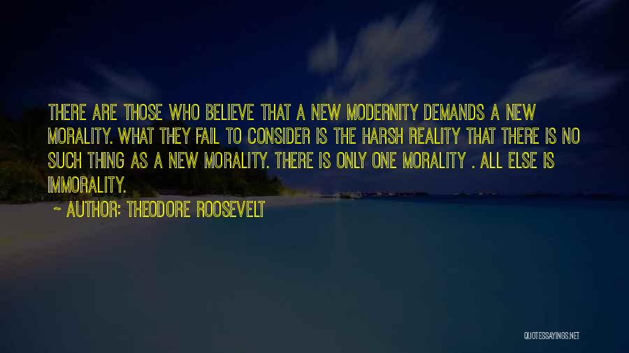 Harsh Reality Quotes By Theodore Roosevelt
