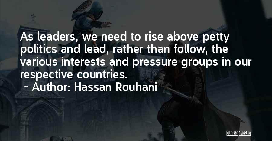 Hassan Rouhani Quotes 1613839