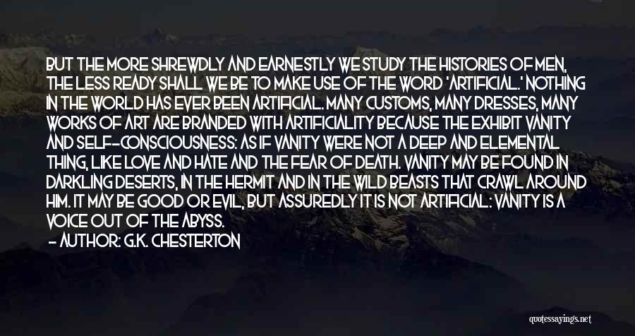 Hate In The World Quotes By G.K. Chesterton