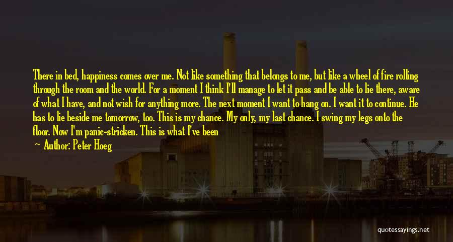 Hate In The World Quotes By Peter Hoeg