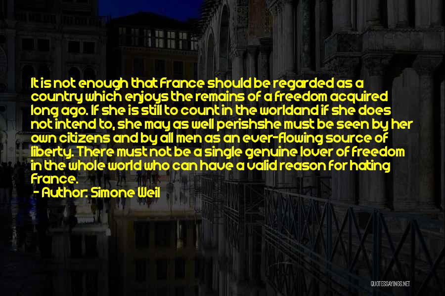 Hate In The World Quotes By Simone Weil