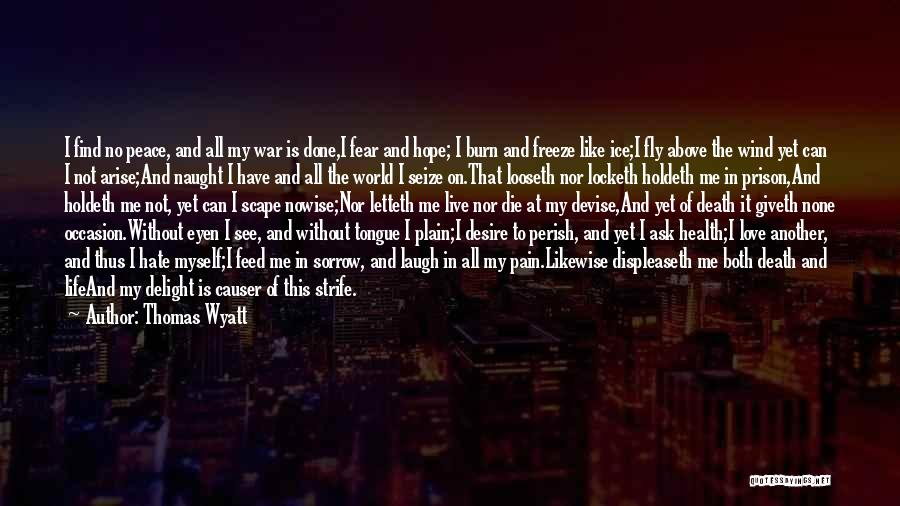 Hate In The World Quotes By Thomas Wyatt