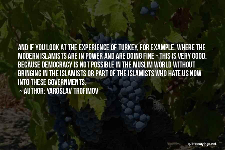 Hate In The World Quotes By Yaroslav Trofimov
