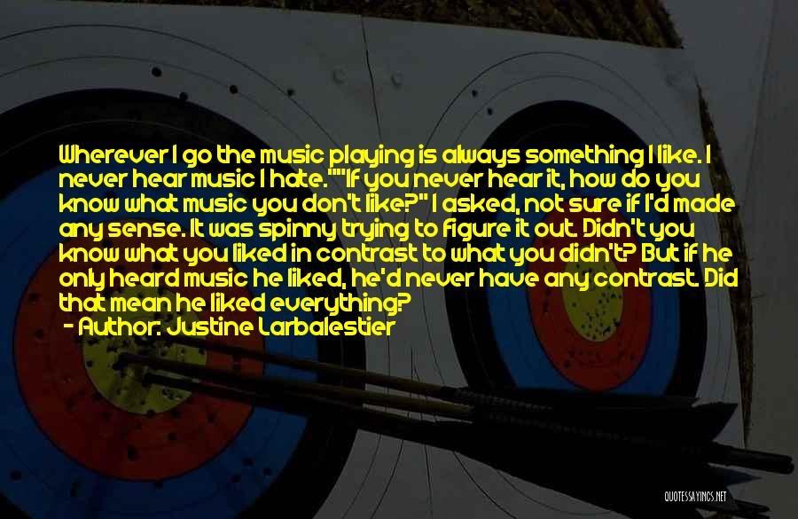 Hate What You Did Quotes By Justine Larbalestier