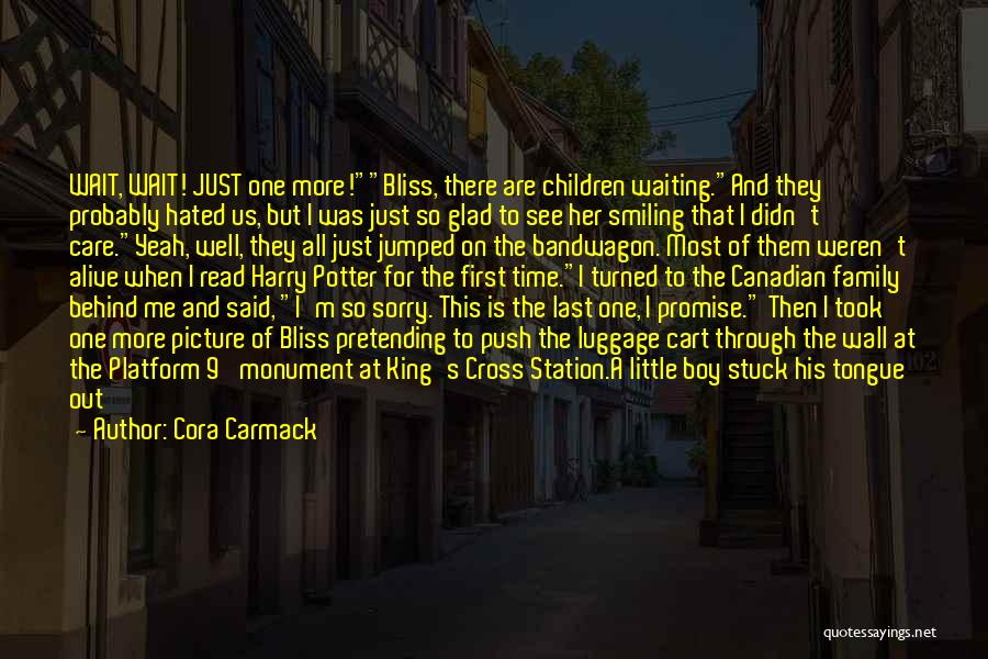 Hated Family Quotes By Cora Carmack