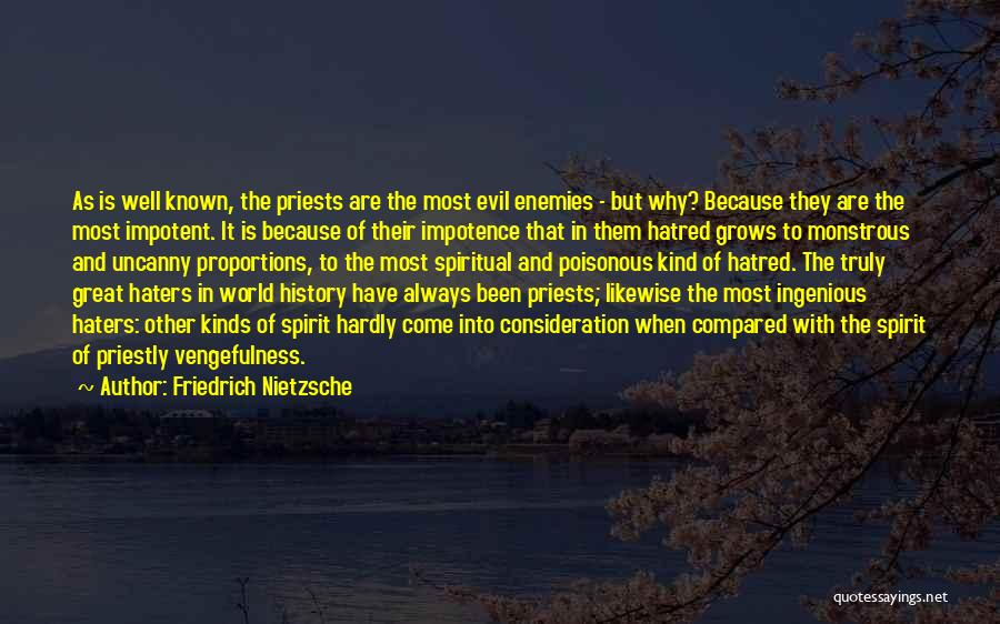 Haters Quotes By Friedrich Nietzsche