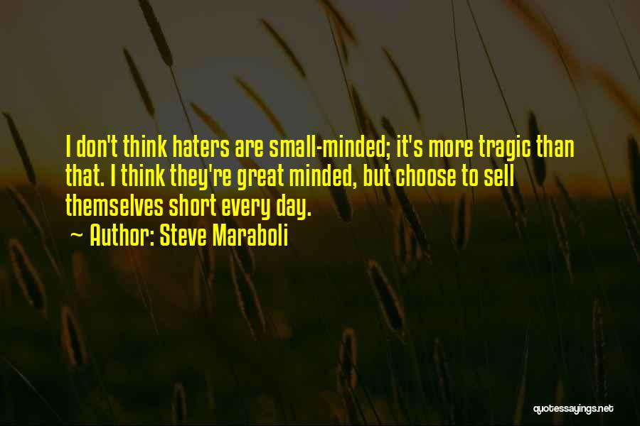 Haters Quotes By Steve Maraboli