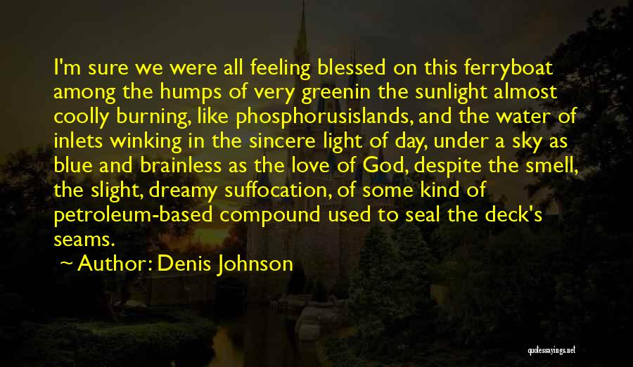 Have A Blessed Day My Love Quotes By Denis Johnson