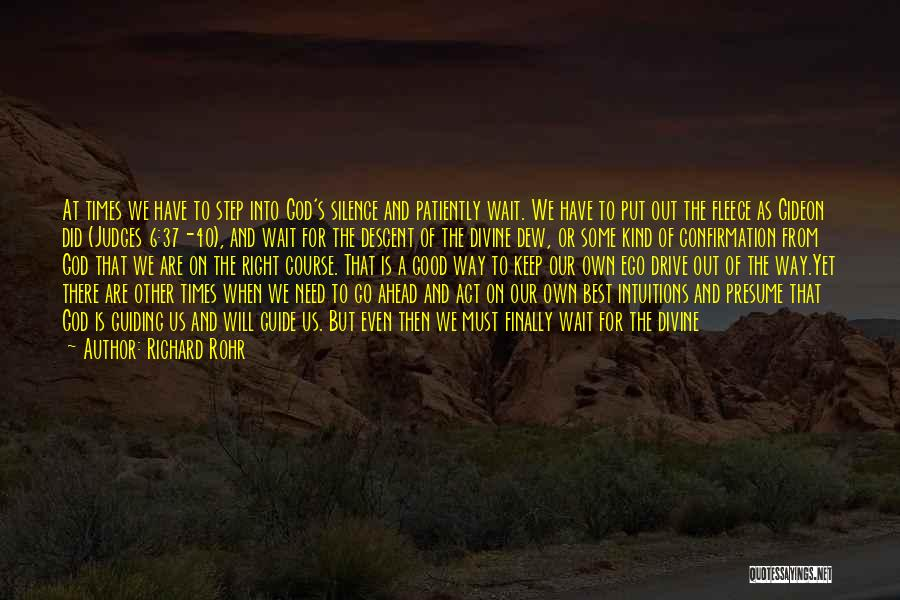 Have Faith And Patience Quotes By Richard Rohr