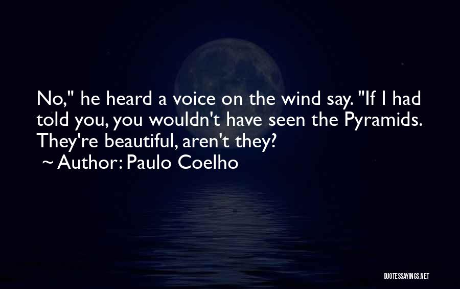 Have I Told You How Beautiful You Are Quotes By Paulo Coelho