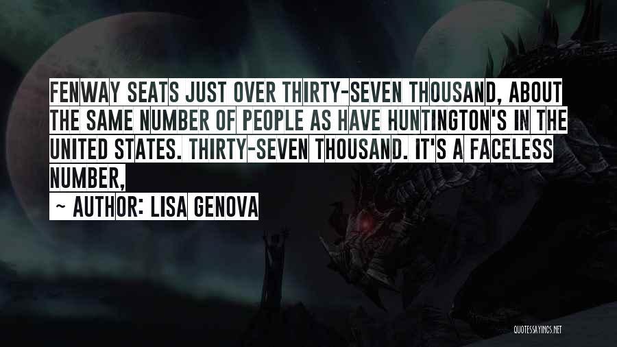 Have Several Seats Quotes By Lisa Genova