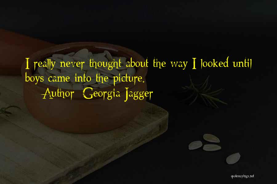 Have You Ever Looked At Someone And Thought Quotes By Georgia Jagger