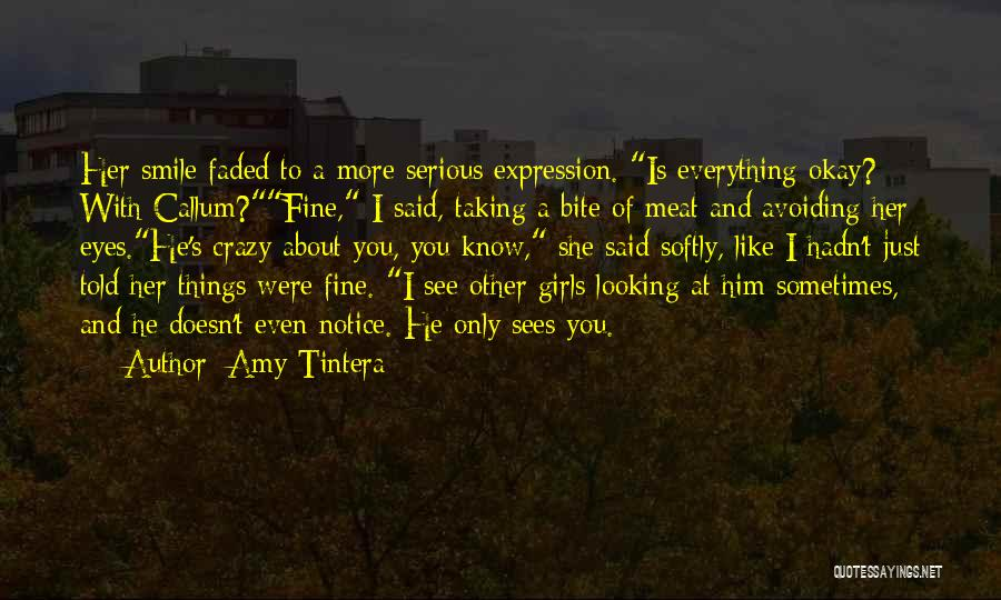 Having A Cute Smile Quotes By Amy Tintera