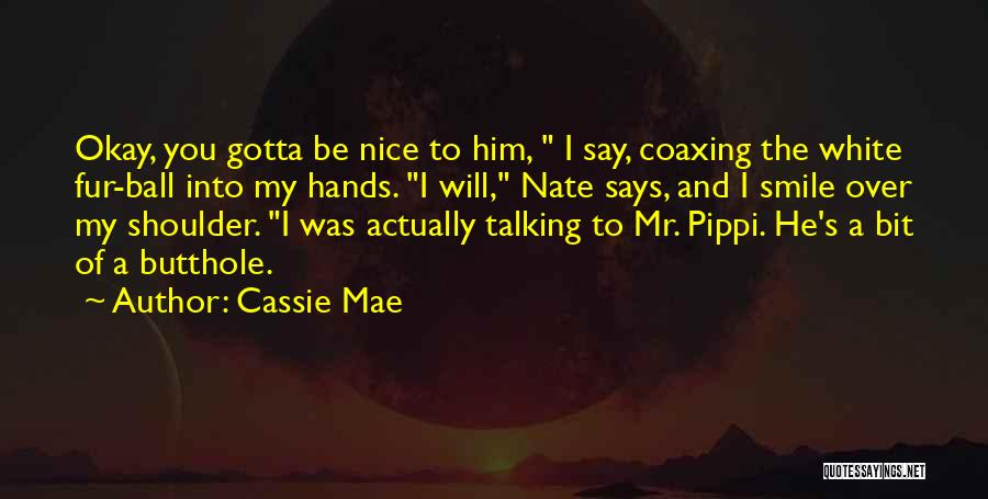 Having A Cute Smile Quotes By Cassie Mae