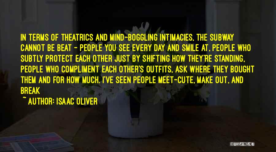Having A Cute Smile Quotes By Isaac Oliver