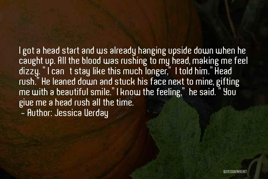 Having A Cute Smile Quotes By Jessica Verday